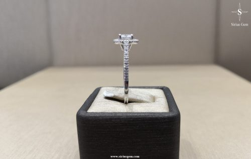 Alcor White Gold Ring