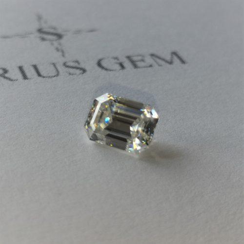 Emerald Cut Sirius Gem
