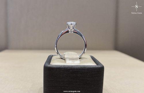 White Gold Sirius Ring