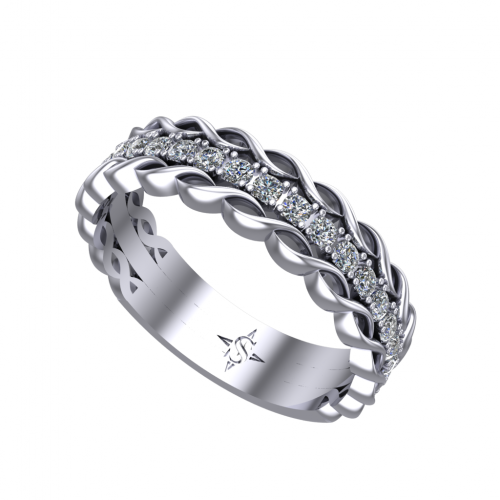 Gemini Wedding Ring