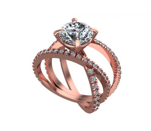 Galaxy Ring and Sirius Gems