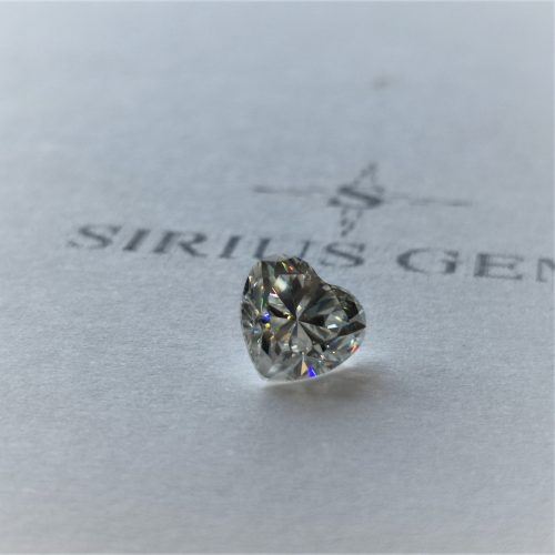 Heart Cut Sirius Gem