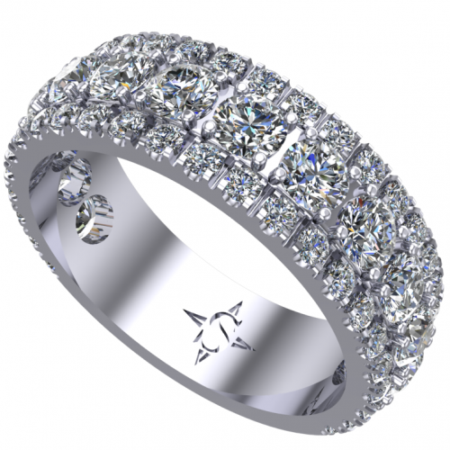 Lynx Wedding Ring