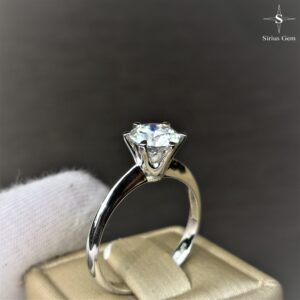 Sirius Gem & White Gold Ring
