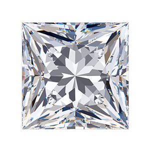 Princess Cut Sirius Gem
