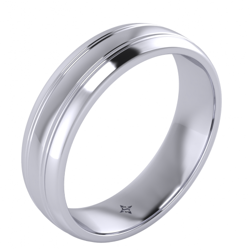 Cetus Man Wedding Band