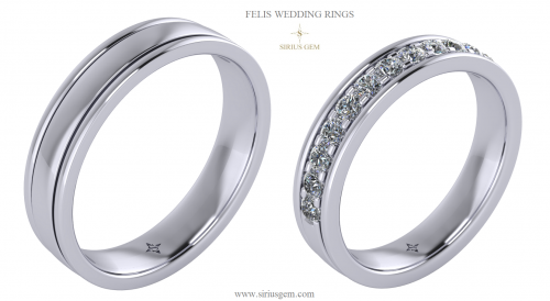 Felis Wedding Rings
