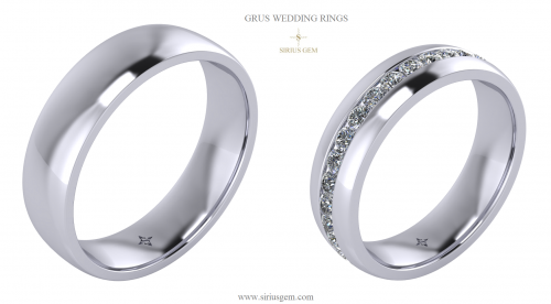 Grus Wedding Ring