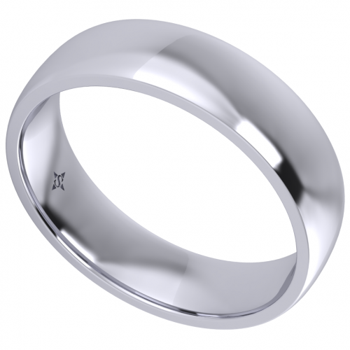Grus Wedding Ring For Him