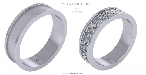 Meissa Wedding Rings